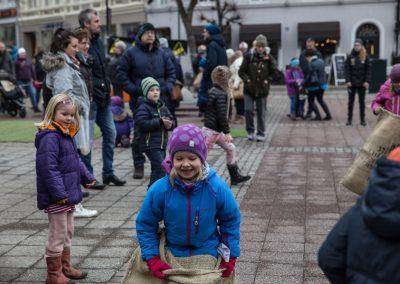 Familiedag på Torvet (foto: Mona Hauglid)